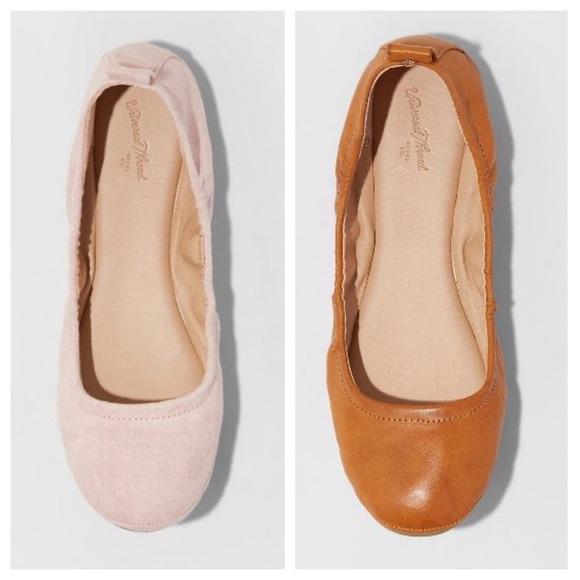 Delaney Round Toe Ballet Flats 8